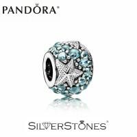 Скидки! Оригинал Pandora Пандора шарм бусина Океаническая морская звезда 791905CZF