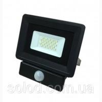 Прожектор LED 30w 6500K IP65 2820LM датчик движения оптом и в розницу Днепр