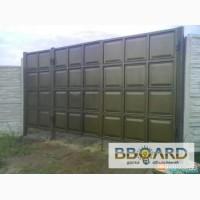 Двери металлические, ворота гаражные, калитки, ворота въездные