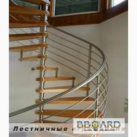 Изготовление лестниц любых конфигураций, перил, присте нных поручне