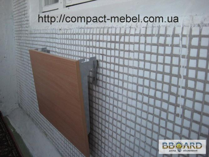 Фото к объявлению: съёмный навесной столик для балкона - bbo.