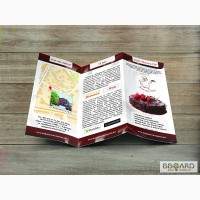Рекламные материалы: листовки, буклеты, плакаты, афиши, флаеры, POS-материалы