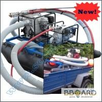 Профессиональные услуги по очистке водоемов мини земснарядом (США)