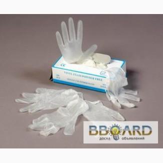 Перчатки, перчатки латексные от 48 грн/уп, перчатки виниловые от 45 грн/уп