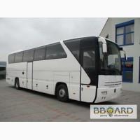Автобусы Неоплан МАН Сетра (45-75 мест) в аренду в Киеве
