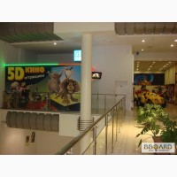 Продается аттракцион 5D кино.