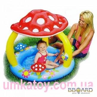 Детский бассейн с навесом Грибок Интекс 57407 Intex