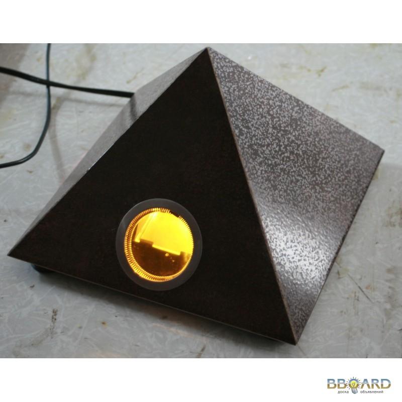 Эффект пирамиды и поляризованный свет