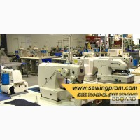 Промышленное швейное оборудование новое и б/у купить в Украине, промышленные швейные машин
