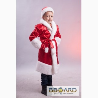 Прокат детских новогодних костюмов Деда Мороза, Снегурочки, Санта Клауса