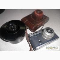 Фотоаппарат ФЭД-2 с чехлом + в подарок, бачок для проявки плёнки