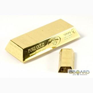 Настольная зажигалка Слиток золота
