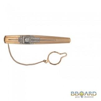 Золотой зажим для галстука «Attribute luxury».