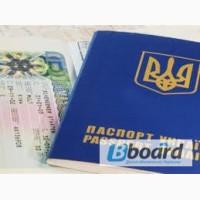 Шенген мультивиза в чистый паспорт