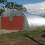 Ангары и складские помещения из профнастила