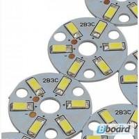 Светодиодный чип 3W 300 Lm, 6 светодиодов 5630 Led