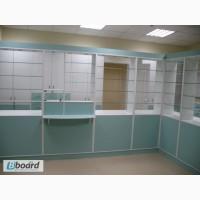 Мебель для аптек, витрины, стеллажи, шкафчики, прилавки.Быстро, качественно, недорого