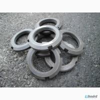 Гайки круглые шлицевые ГОСТ 11871-88, DIN 981