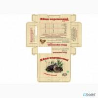 Картонная упаковка на 20 яиц перепелки от производителя