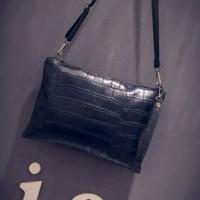 Черная модная сумочка-клатч/чорний клатч