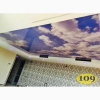 Установка натяжных потолков в Диканьке