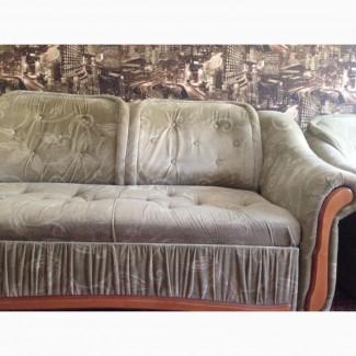 Продам угловой раскладной диван, кресло