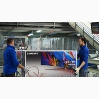 Рабочие на завод холодильников Samsung