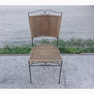 Стул из ротанга бу, мебель б/у для общепита (кафе столовых ресторанов)