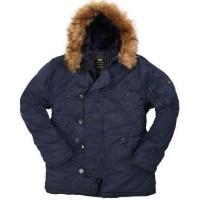 Мужские классические куртки Аляска Американской фирмы Alpha Industries