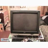 Монитор с плоским экраном.LG FLATRON.