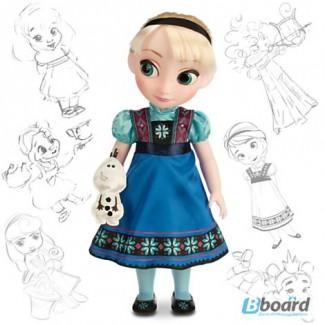 Малышка аниматор Эльза из мультфильма «Холодное сердце»