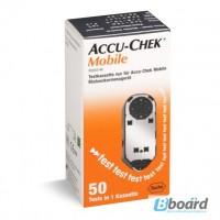 Продам тест-кассета для глюкометра акку-чек мобайл N1 (на 50 измерений)