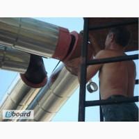 Негорючая изоляция ( утеплитель) для стальных труб, трубопроводов и теплотрасс ФРП-1
