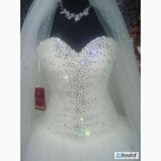 Свадебное платье от eva shelest britaniсваровски продажа + прокат