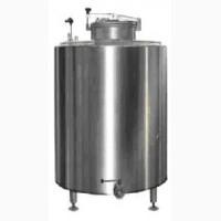 Резервуары из нержавеющей стали с теплоизоляцией, мешалкой и моющим устройством