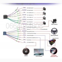 2Din Автомагнитола Pioneer 7026 GPS Навител Bluetooth Пульт