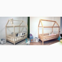 Детская кровать домик из сосны - Украинский производитель