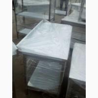 Столы производственные новые разделочные из нержавеющей стали для кухни ресторана
