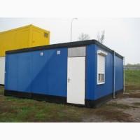 Контейнер офисный (синий, 6*6 м.)