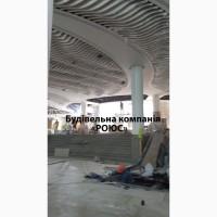Монтаж подвесного потолка: ламельный потолок, грильято, армстронг, потолок из гипсокартона