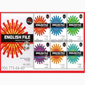 Продам New English File English File книга+тетрадь.Цветной комплект