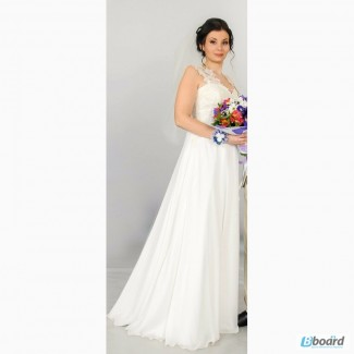 Свадебное платье.не венчанное