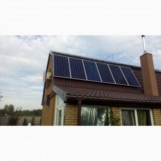 Солнечная станция.Солнечная электростанция премиум комплектации