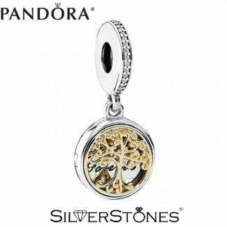Скидки! Pandora Пандора шарм подвеска Семейные ветви арт. 791988CZ Оригинал