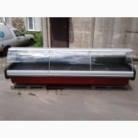 Холодильная витрина Кохка 3, 85 м. б/у, холодильный прилавок