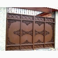 Изготовление кованых ворот по вашим размерам недорого