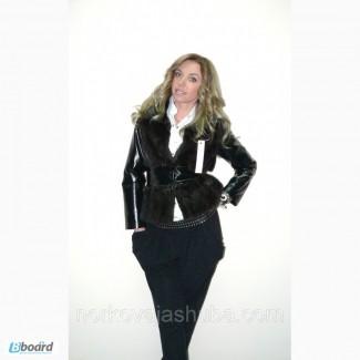Демисезонная куртка-трансформер из меха норки