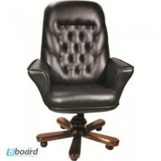 Кресло для руководителя Геркулес Extra в дереве