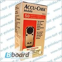 Тест-кассета к глюкометру Акку-Чек Мобайл