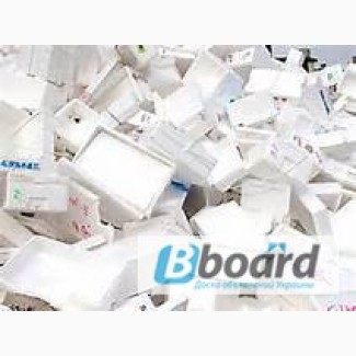 Куплю отходы полистирола УПМ (крышку телевизора, внутренности холодильника, катушки)